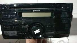 Radio tape merk toyota