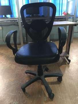 Chair & white board