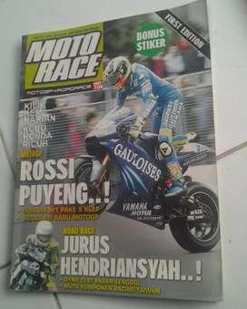 Motorace edisi perdana