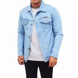 Jaket jeans the berry