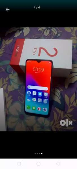 Real me 2pro 6gb ram 10month old bill box sab kuch h