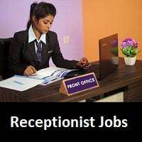 Wanted Receptionist & front Office Admin Work
