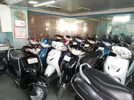 Honda activa available in white color 2013 model