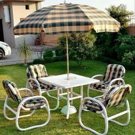 Special upvc garden chairs