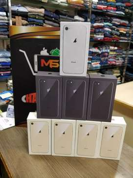 Imported Unused Apple iPhone 8 64gb & 256gb Both available