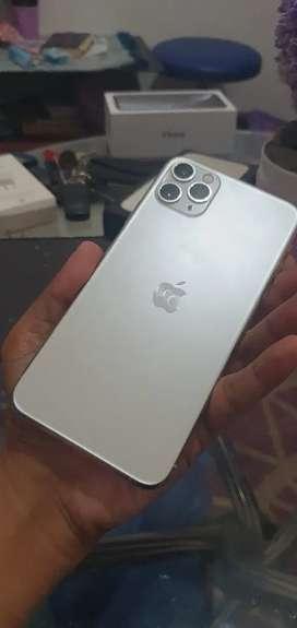 Iphone 11 Pro Max 64gb BH 91% ex interr fullset mulus