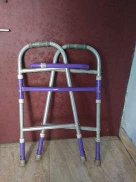 Adjustable Foldable Walker for old age people. ₹900.00