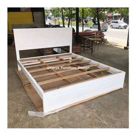 tempat tidur dipan kayu jati  mpb227