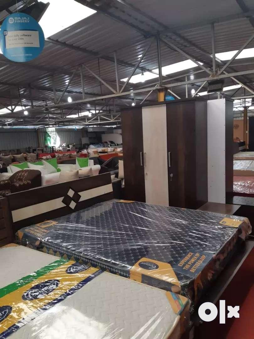 Bedroom set furniture on Bajaj finance 0