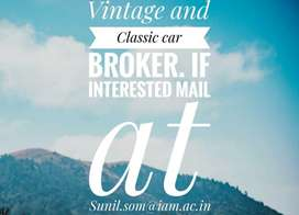 Vintage and Classic Car Broker.
