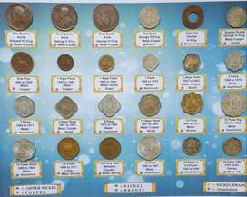 Beautiful Collection of 24 Coins set. just for 555 Rs