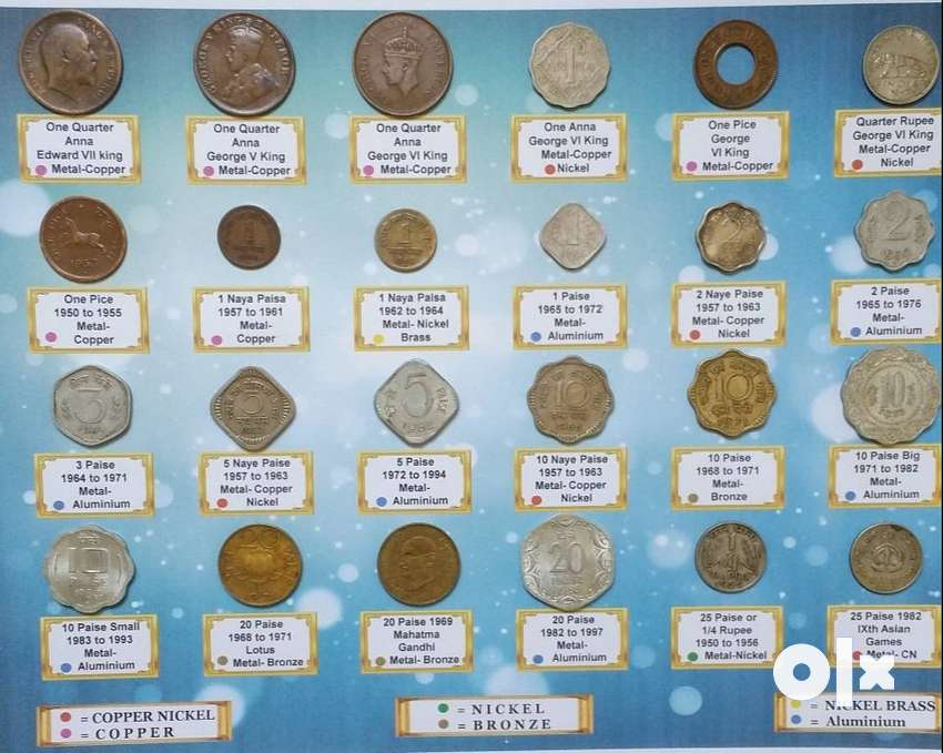 Beautiful Collection of 24 Coins set. just for 555 Rs 0