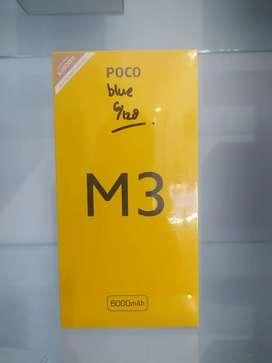 POCO M3 6/128gb. Harga terbaik Garansi Resmi TAM