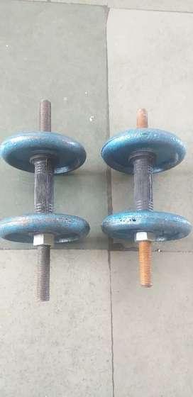 Dumbbell for Gym (Exercise) Per bumbell-5KG.  Total Weght-10KG