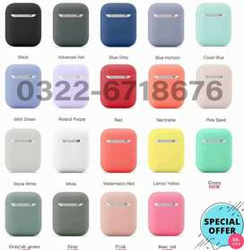 Silicone Case Protector for Bluetooth Earphone Air Pods