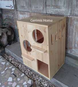 Rumah Kucing / Cat Condo Murah