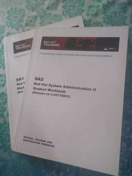 Redhat System Administrator SA 1 and SA 2 Certification book
