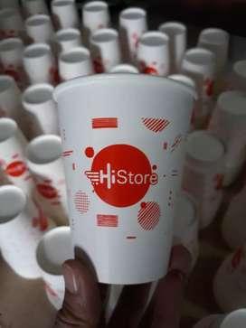 Printing gelas kertas unik kekinian PAPER CUP 22oz