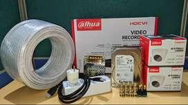 PROMO PAKET CCTV DAHUA 2CH 2MP
