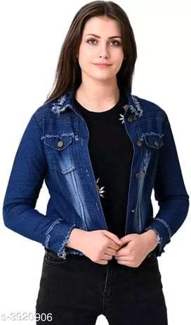 Catalog Name: *Attractive Denim Women' jacket