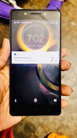 Lenovo K8 Note 4gb 64gb dual camera only mobile in good condition