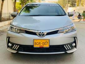 Toyota Corolla Altis 1.6 2019 choice number