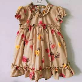 Kids cotton frock 1-7 years daily wear in cotton meterial