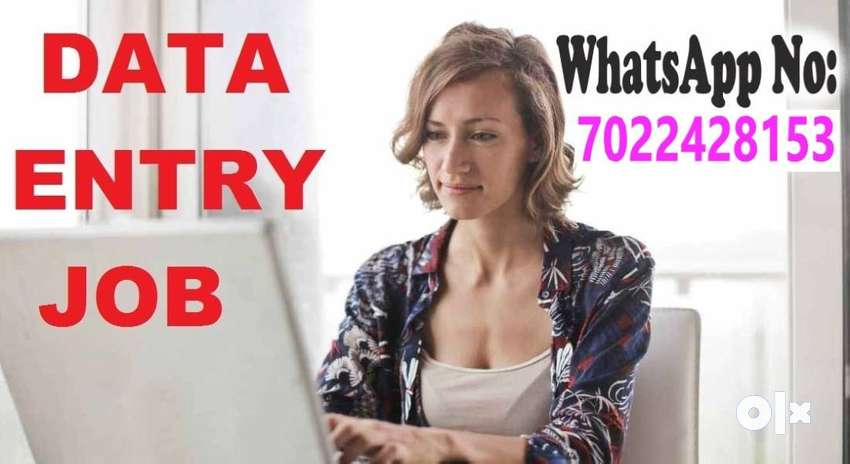 data entry job in India for house wives, students, unemployed person 0