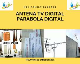 Agen Toko Instalasi Pasang Baru Sinyal Antena Tv Klender