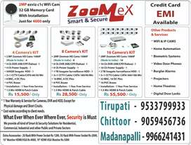 Indian Made CCTV cams 2mp 3mp lens