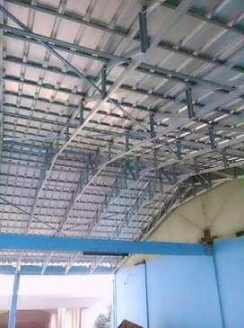 Canopy pagar teralis balkon baja ringan dll