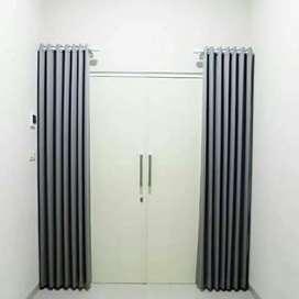Gorden Gordyn Korden Tirai Hordeng Curtain Blinds Wallpaper C.363ve