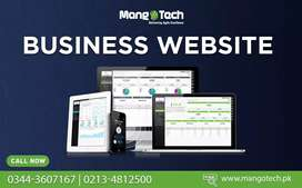 Website development & designing Corporate business website in Pakistan