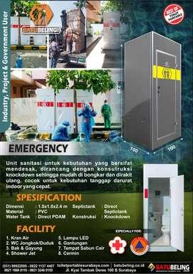 Jual Toilet Portable Model Emergency