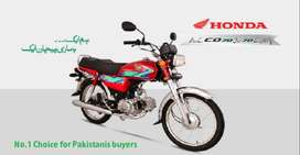 "OCTOBER Sale on Honda 125 and Cd 70 ""instalment"""