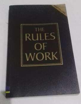 The Rule Of Work buku import lawas koleksi langka