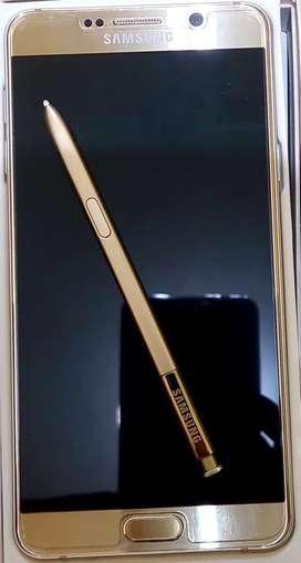 Samsung Note 5 mulus ex SEIN Fullset