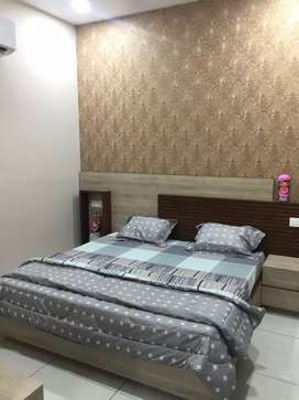 2bhk 1st floor fully furnish available for rent in brs nagar ludhiana