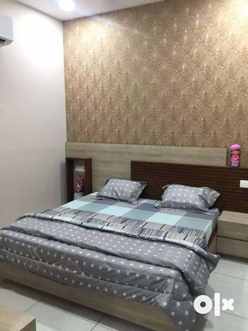 2bhk 1st floor fully furnish available for rent in brs nagar ludhiana 0