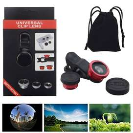 Mobile Camera Lens Universal 3 in 1 Lens Kit - Macro Lens Kit & Wide A