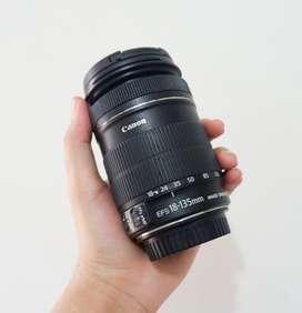Lensa 18-135mm Canon, Normal Langsung Pakai