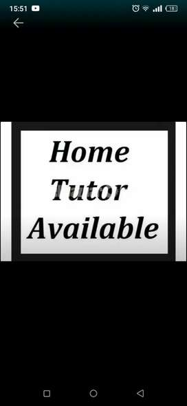 home tutor available for class 8th 9th 10th + computer programming