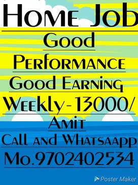 Hand Writing paper work Monthly 52000