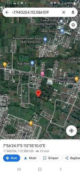 Tanah Luas 3.266 di Joyogrand Joyoagung Merjosari Cocok Untuk Cluster