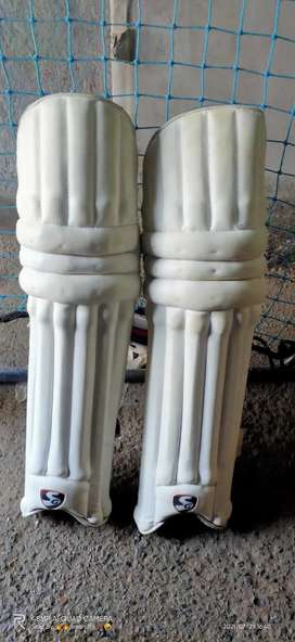 SG pads for right hand batsman