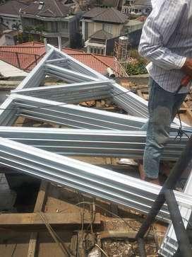 Integreet Konstruksi menerima jasa pasang atap baja ringan