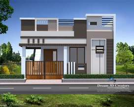 Athipalayam 2bhk house sales in 25lakh