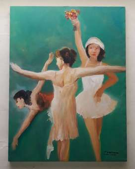 Lukisan Master JP Laa Manroe( peraih puluhan award internasional)