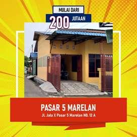 Dijual Cepat Rumah Lokasi Strategis Di Medan Marelan  Jl. Jala X Pasar