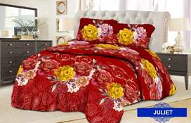 Set bed cover singgle uk 120
